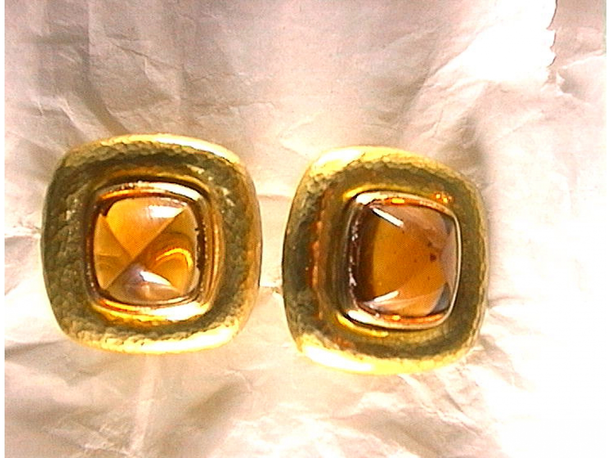Ohrstecker Citrine 17,86 ct, 27,50 gr | 100.460.597.341