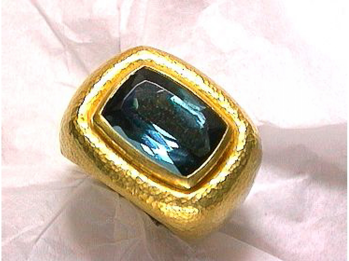 Ring Indigolith 6,2 ct - 33 gr | 100.040.097.153