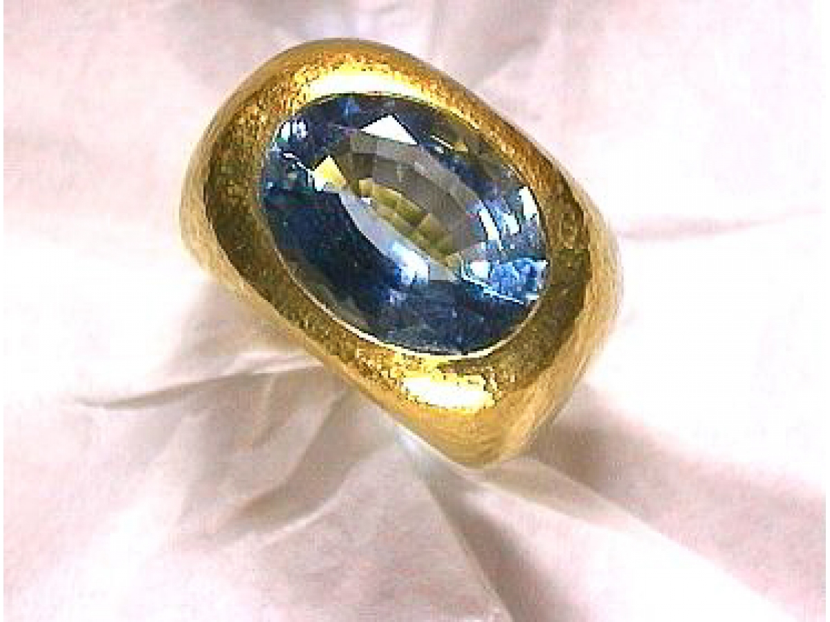 Ring Aquamarin 7,44 ct - 30 gr | 100.040.097.489