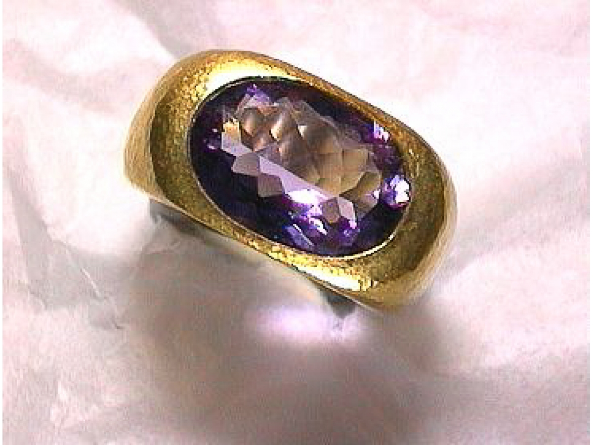 Ring *1  Amethyst 6,8 ct - 22 gr | 100.040.097.776