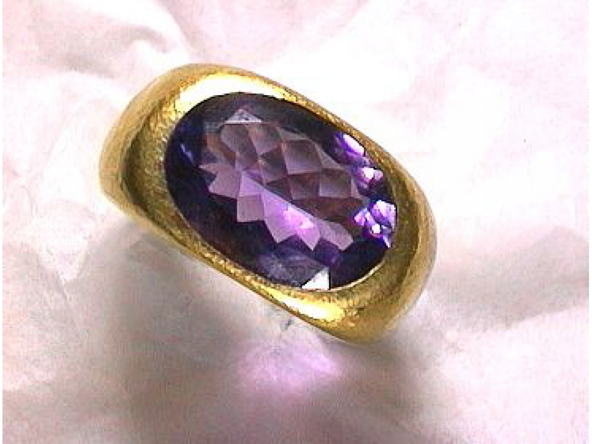 Ring  *1  Amethyst 6,75 ct - 23 gr | 100.040.097.869