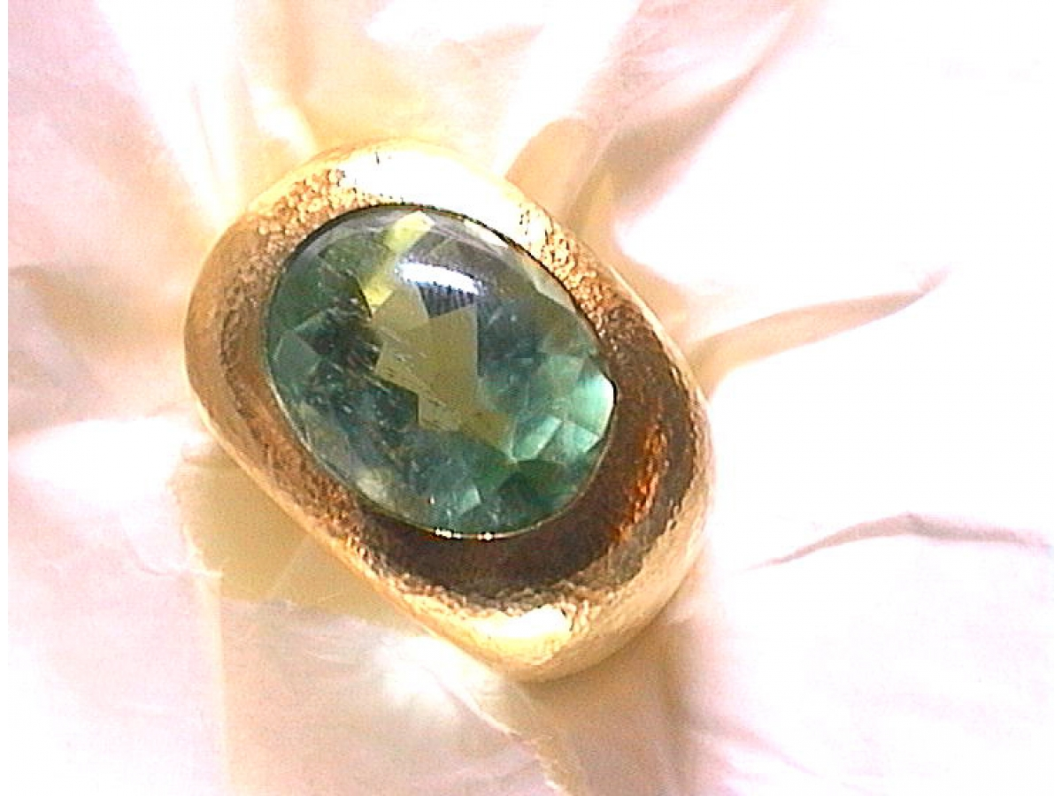 Ring hellgr. Bafftopturmalin 14,66 ct | 100.430.597.210