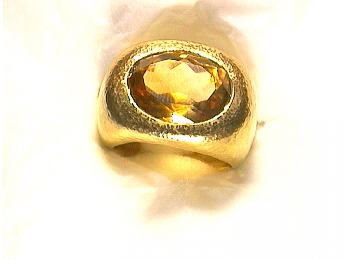 Ring Citrin 8,76 ct | 100.450.597.278