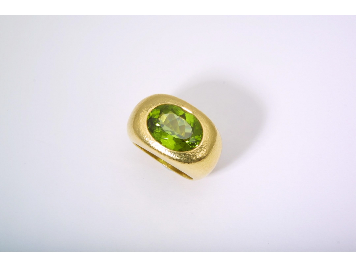 Ring Peridot 9,5 ct - 27,7 gr | 100.470.898.133