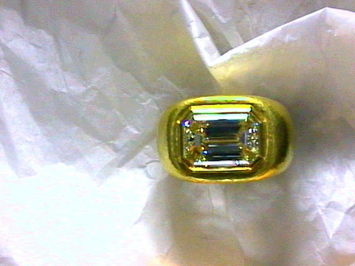 Ring Diamant emerald cut - 29 g | 100.501.199.144