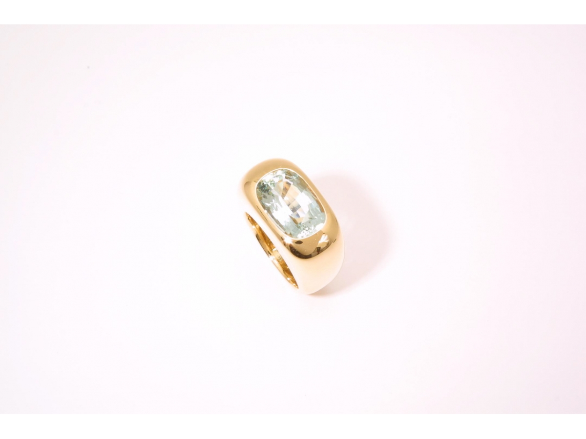 Ring* rg Aquam. antik 6,90 ct - 24,8 g | 100.441.099.311