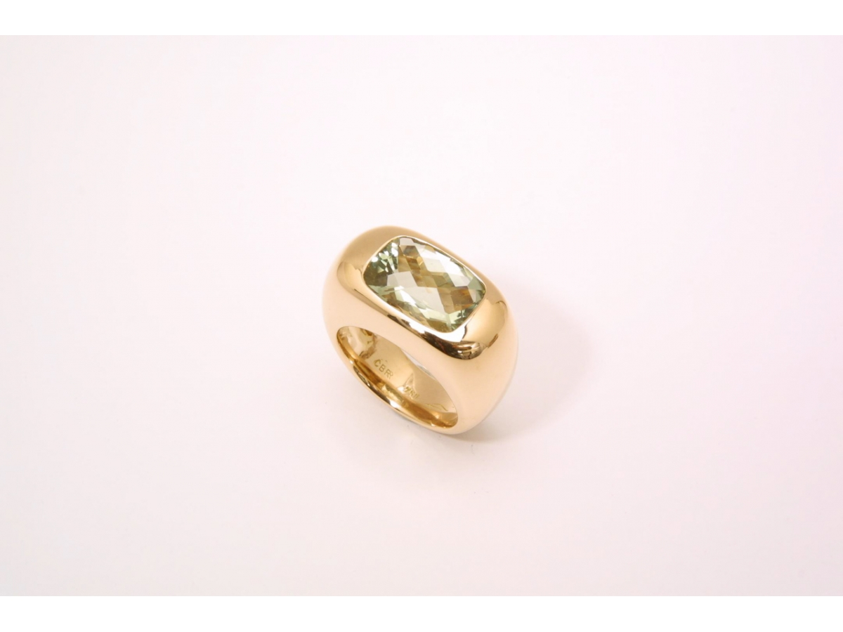 Ring RG, queroval, mit Plasiolith 6, | 100.441.905.367